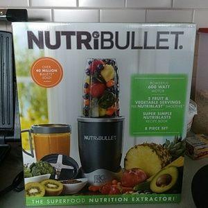 Other - Brand new in box Nutribullet